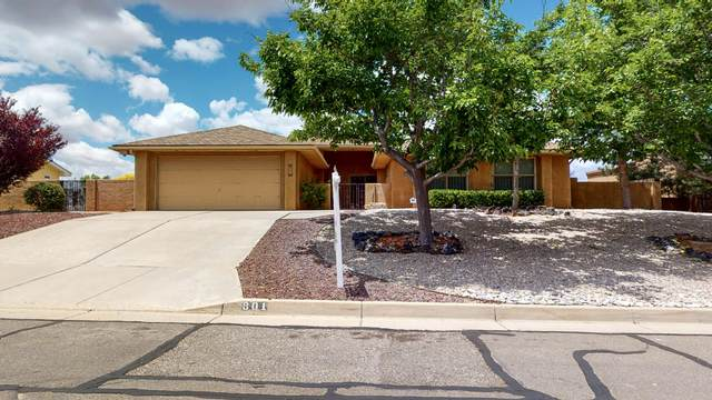 801 Navarra Way SE, Albuquerque, NM 87123 (MLS #971673) :: The Buchman Group