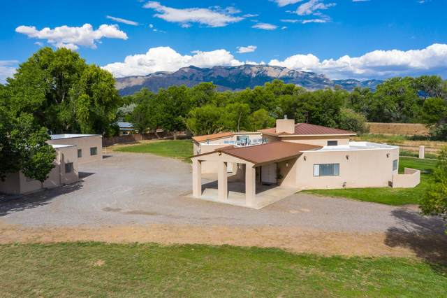 591 E Ella Drive, Corrales, NM 87048 (MLS #971859) :: The Buchman Group