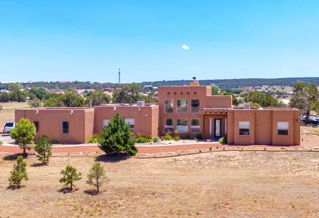 3 Cielo Estrellado Drive, Edgewood, NM 87015 (MLS #972041) :: The Buchman Group