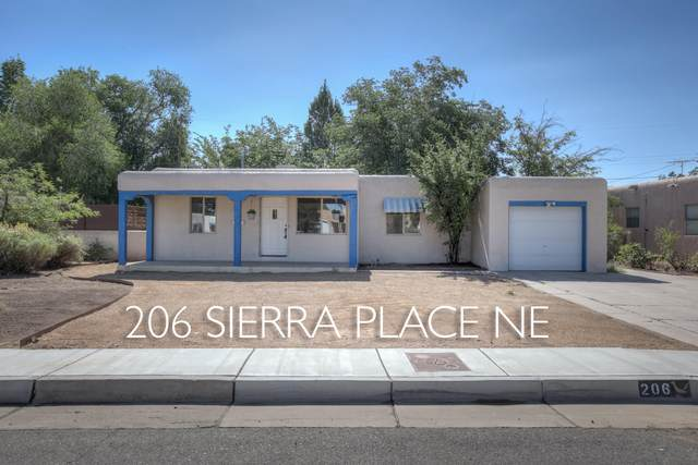 206 Sierra Place NE, Albuquerque, NM 87108 (MLS #972207) :: Campbell & Campbell Real Estate Services