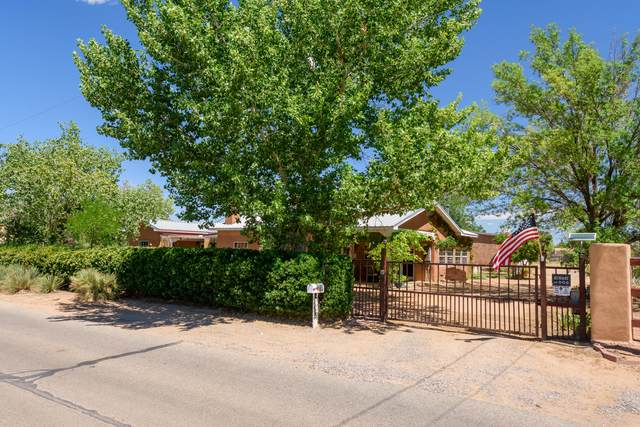 122 Camino Arco Iris, Corrales, NM 87048 (MLS #973731) :: Campbell & Campbell Real Estate Services