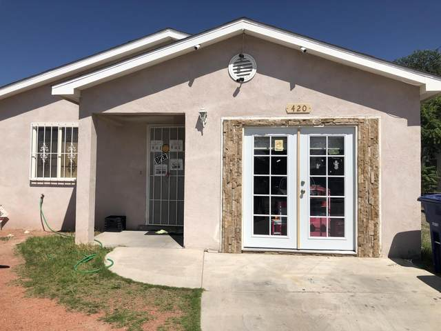 420 Tennessee Street SE, Albuquerque, NM 87108 (MLS #974289) :: The Buchman Group