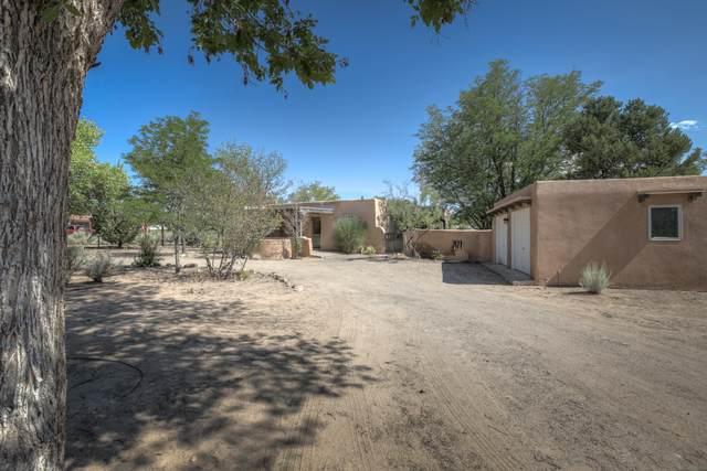 726 W Meadowlark Lane, Corrales, NM 87048 (MLS #974389) :: The Buchman Group