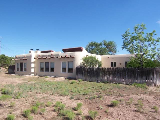 1 Camino Mesteno, Placitas, NM 87043 (MLS #974495) :: The Buchman Group