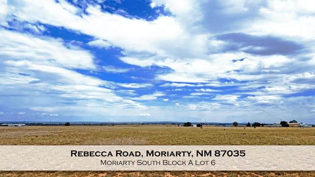Rebecca Road, Moriarty, NM 87035 (MLS #974513) :: Campbell & Campbell Real Estate Services