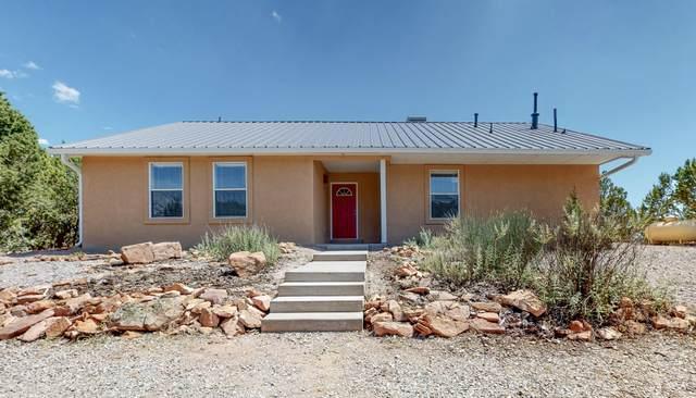 20 Zane Drive, Sandia Park, NM 87047 (MLS #974774) :: The Buchman Group