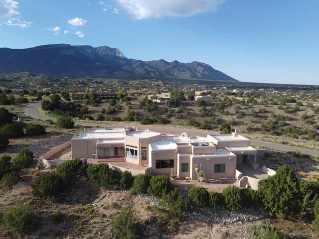 6 Calle Ponderosa, Placitas, NM 87043 (MLS #974943) :: Berkshire Hathaway HomeServices Santa Fe Real Estate