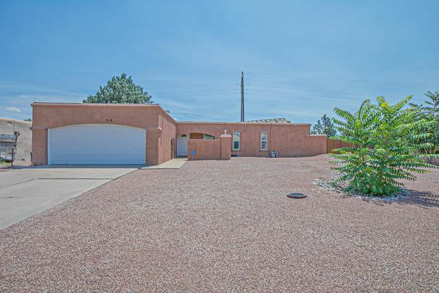 216 Spring Drive SE, Rio Rancho, NM 87124 (MLS #975083) :: Campbell & Campbell Real Estate Services