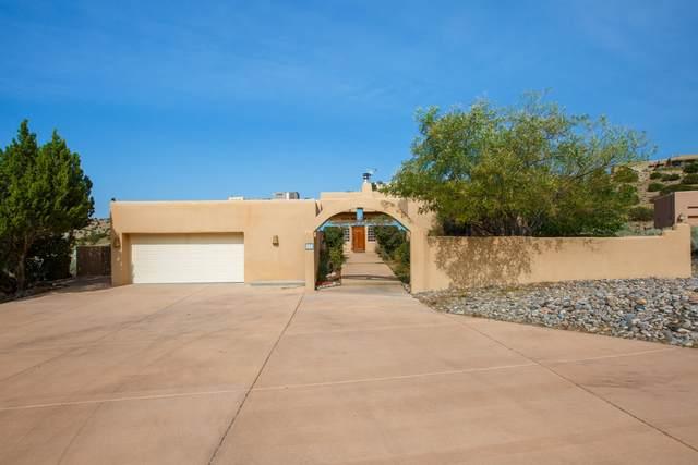 7 Cienega Canyon Road, Placitas, NM 87043 (MLS #976947) :: The Bigelow Team / Red Fox Realty