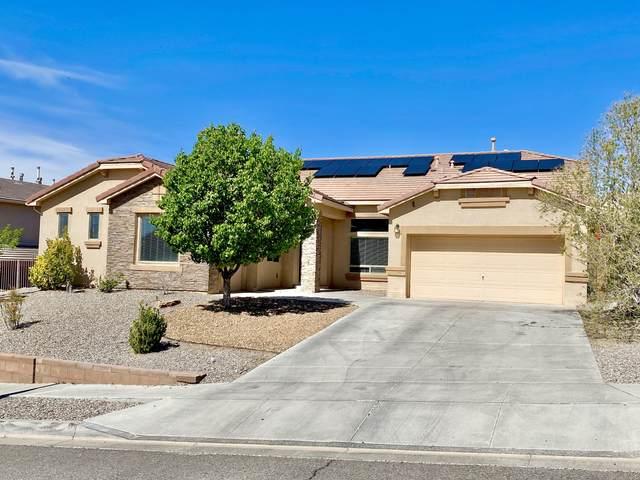 1011 Desert Broom Road NE, Rio Rancho, NM 87144 (MLS #977331) :: Berkshire Hathaway HomeServices Santa Fe Real Estate