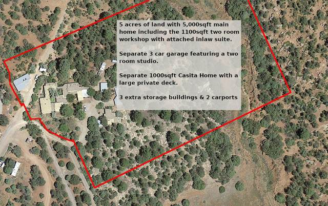 1 Paseo Sin Nombre, Glorieta, NM 87535 (MLS #977433) :: Campbell & Campbell Real Estate Services