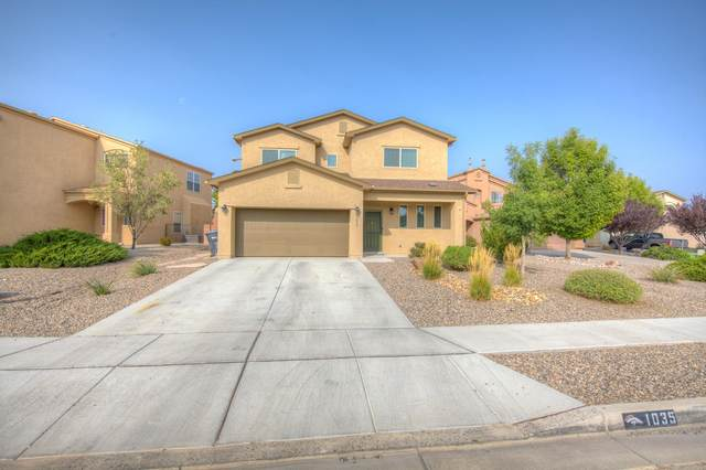 1035 Desert Willow Place NE, Rio Rancho, NM 87144 (MLS #977441) :: Sandi Pressley Team
