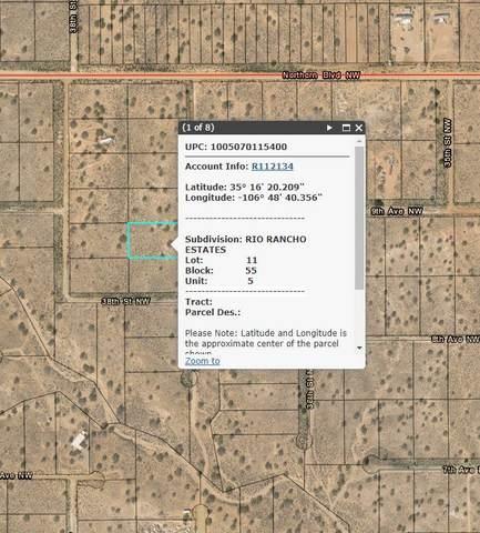 37th Street NW, Rio Rancho, NM 87124 (MLS #977500) :: Berkshire Hathaway HomeServices Santa Fe Real Estate