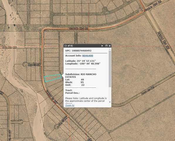 Venture Drive NW, Rio Rancho, NM 87144 (MLS #977504) :: Berkshire Hathaway HomeServices Santa Fe Real Estate