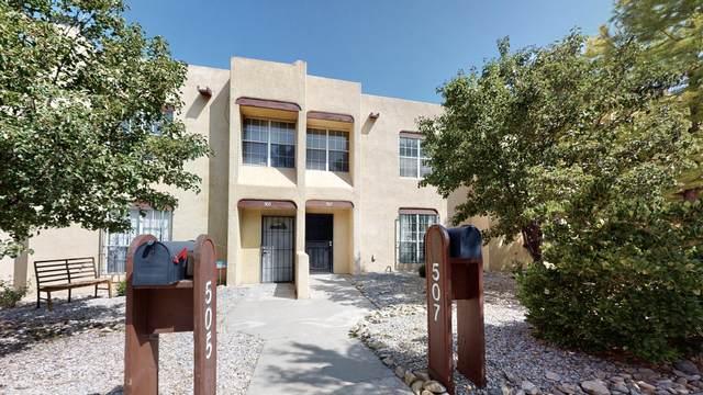 507 Roma Avenue NE, Albuquerque, NM 87102 (MLS #977651) :: HergGroup Albuquerque