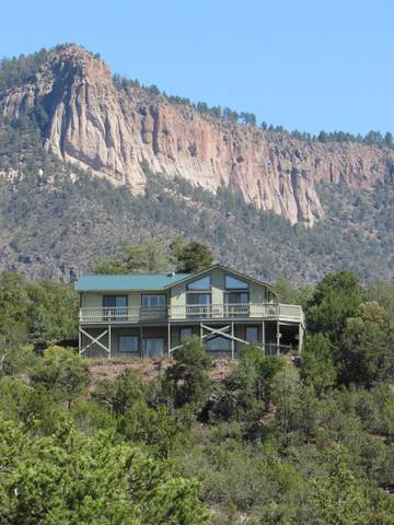 444 Ponderosa Drive, Jemez Springs, NM 87025 (MLS #977708) :: The Buchman Group
