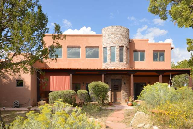 159 Via Sedillo Road, Tijeras, NM 87059 (MLS #977912) :: The Bigelow Team / Red Fox Realty