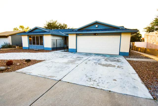 1221 Kirby Street NE, Albuquerque, NM 87112 (MLS #977929) :: Campbell & Campbell Real Estate Services