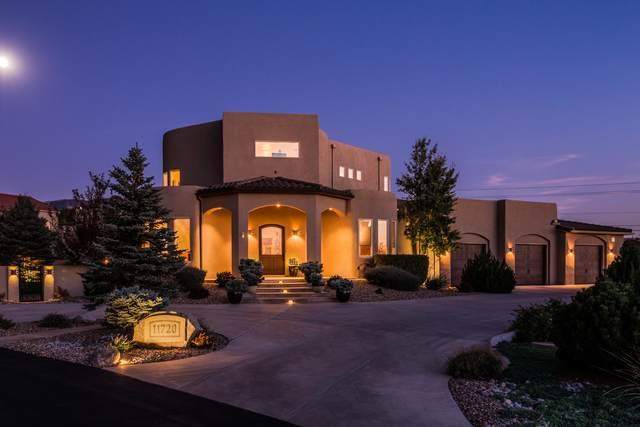 11720 Coyote Run Road NE, Albuquerque, NM 87122 (MLS #978093) :: The Bigelow Team / Red Fox Realty