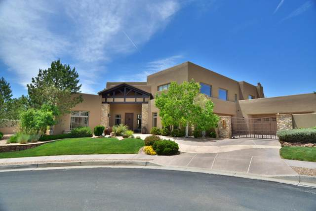 5301 High Canyon Trail NE, Albuquerque, NM 87111 (MLS #978912) :: The Bigelow Team / Red Fox Realty