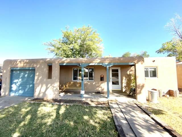 708 Arizona Street SE, Albuquerque, NM 87108 (MLS #979318) :: The Bigelow Team / Red Fox Realty