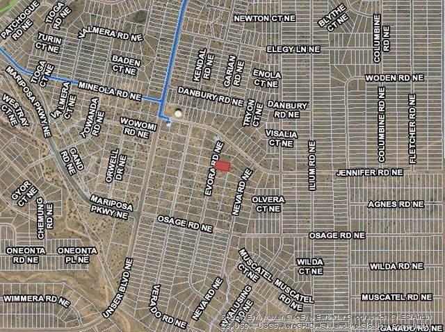 5624 Evora (U25b134l18) Road NE, Rio Rancho, NM 87144 (MLS #979654) :: The Buchman Group