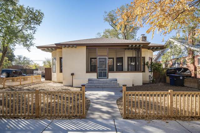 1620 Silver Avenue SE, Albuquerque, NM 87106 (MLS #979828) :: The Buchman Group