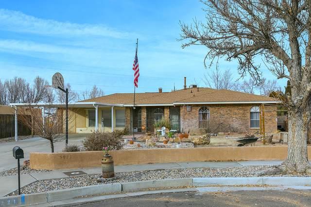 5921 Cambria Road NW, Albuquerque, NM 87120 (MLS #979833) :: Berkshire Hathaway HomeServices Santa Fe Real Estate