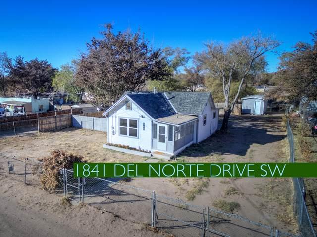 1841 Del Norte Drive SW, Albuquerque, NM 87105 (MLS #980503) :: Campbell & Campbell Real Estate Services