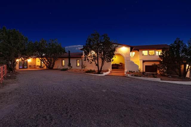 16 Calle Del Sol, Placitas, NM 87043 (MLS #980989) :: Berkshire Hathaway HomeServices Santa Fe Real Estate