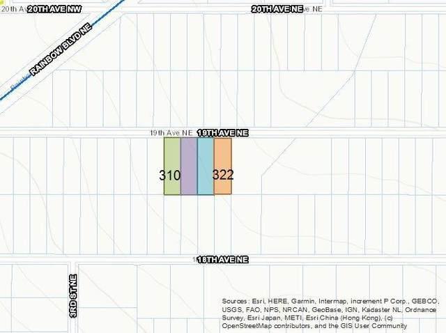 310 19th (U12 B59 L14,15,16 Or 17) Avenue NE, Rio Rancho, NM 87144 (MLS #981016) :: Campbell & Campbell Real Estate Services