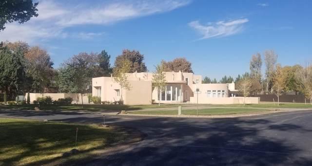 1001 El Alhambra Circle NW, Los Ranchos, NM 87107 (MLS #981150) :: HergGroup Albuquerque