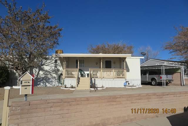 6801 Jade Park Avenue NE, Albuquerque, NM 87109 (MLS #981254) :: The Bigelow Team / Red Fox Realty