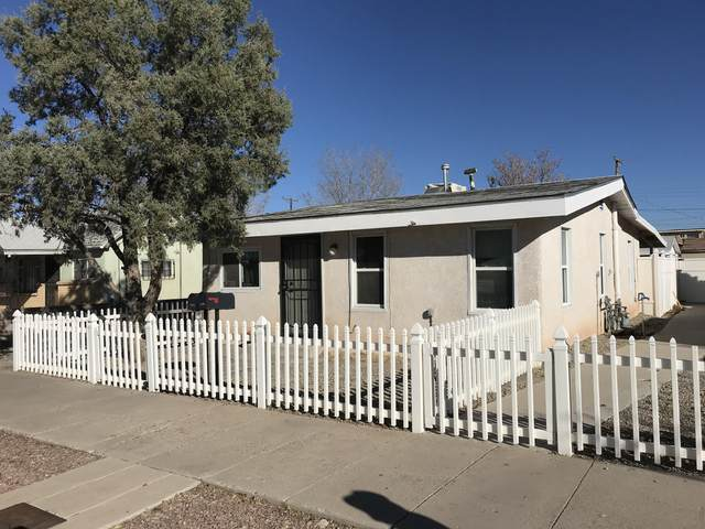 1610 6TH Street NW, Albuquerque, NM 87102 (MLS #981257) :: Campbell & Campbell Real Estate Services