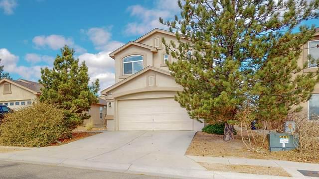 9115 Indigo Sky Trail SW, Albuquerque, NM 87121 (MLS #981829) :: The Buchman Group