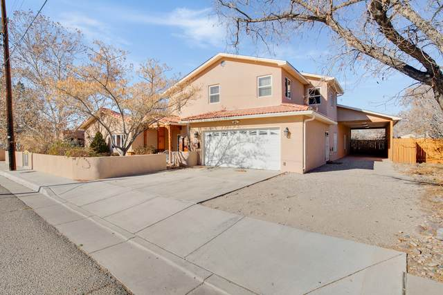 1809 Marble Avenue NW, Albuquerque, NM 87104 (MLS #982265) :: The Buchman Group
