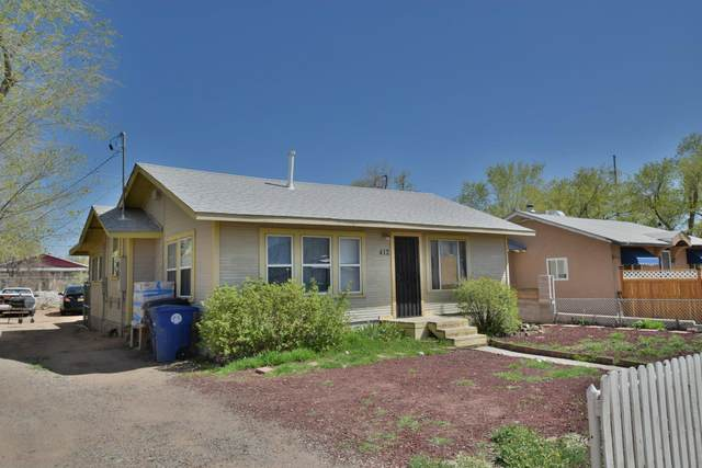 412 Harvard Drive SE, Albuquerque, NM 87106 (MLS #983157) :: The Buchman Group
