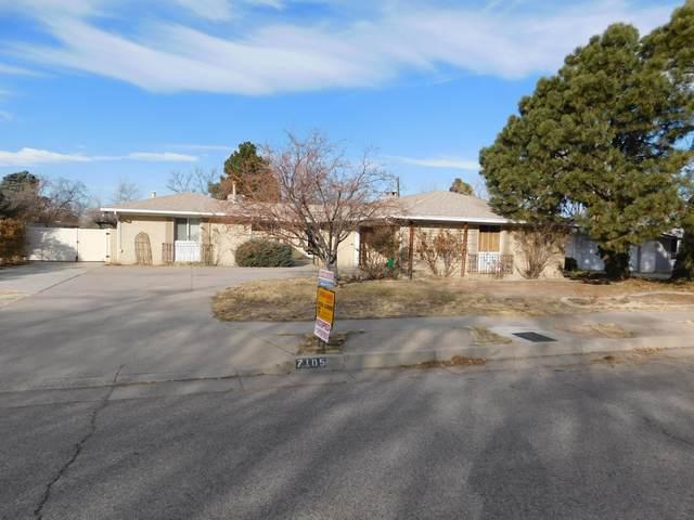 7105 Gladden Avenue NE, Albuquerque, NM 87110 (MLS #983416) :: Keller Williams Realty