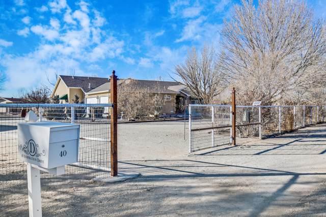 40 Inspiration Drive, Los Lunas, NM 87031 (MLS #983487) :: The Buchman Group