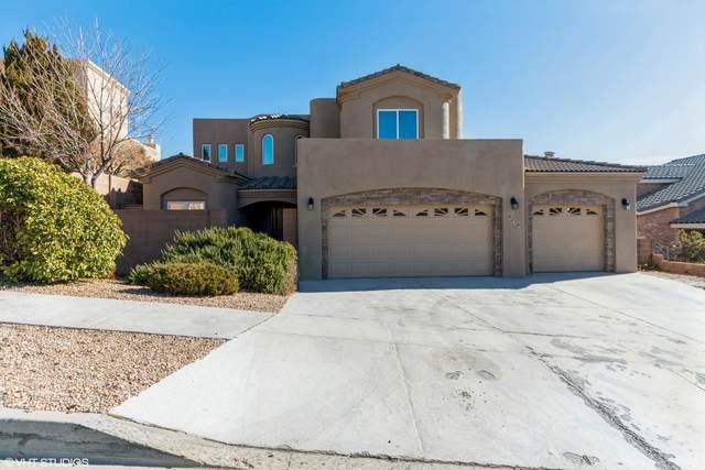 9816 Benton Street NW, Albuquerque, NM 87114 (MLS #983686) :: Keller Williams Realty