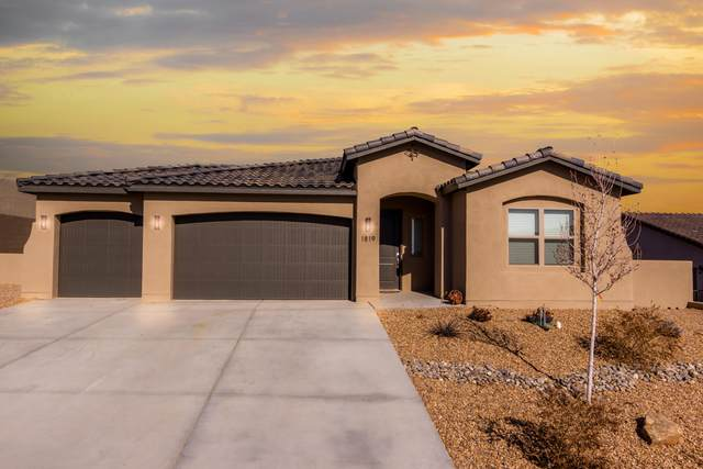 1819 Castle Peak Loop NE, Rio Rancho, NM 87144 (MLS #983700) :: Campbell & Campbell Real Estate Services