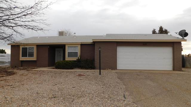 229 Sommerset Drive SE, Rio Rancho, NM 87124 (MLS #984134) :: The Buchman Group