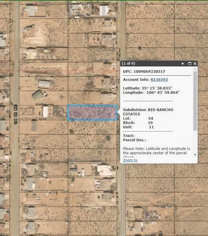 109 2nd Street NE, Rio Rancho, NM 87124 (MLS #984209) :: The Buchman Group