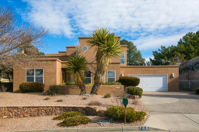 708 Kiva Drive SE, Albuquerque, NM 87123 (MLS #984351) :: Keller Williams Realty
