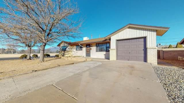 446 Mankin Street NE, Albuquerque, NM 87123 (MLS #984521) :: The Buchman Group