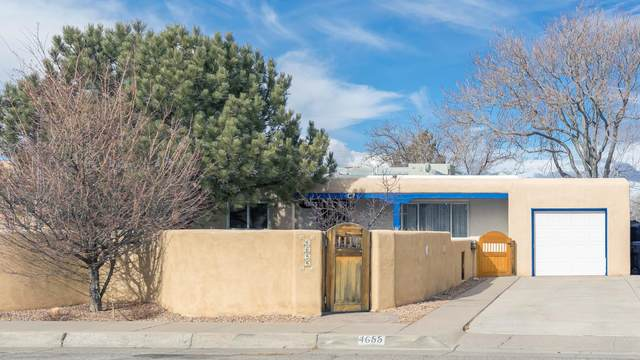 4655 Idlewilde Lane SE, Albuquerque, NM 87108 (MLS #984602) :: The Buchman Group
