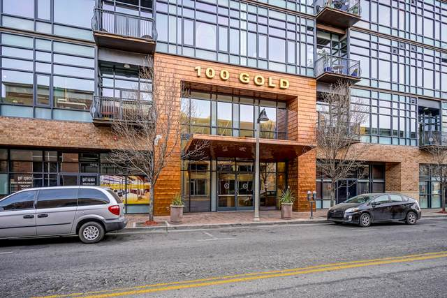 100 Gold Avenue SW #601, Albuquerque, NM 87102 (MLS #985363) :: The Buchman Group