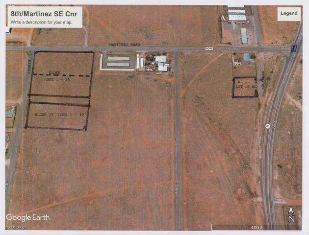 8TH ST//MARTINEZ  ROAD, Moriarty, NM 87035 (MLS #985508) :: Keller Williams Realty
