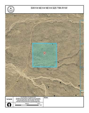 Off Pajarito SW, Albuquerque, NM 87121 (MLS #985920) :: The Buchman Group