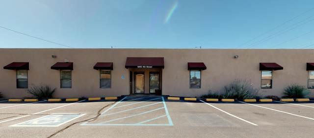 5810 4TH Street NW, Albuquerque, NM 87107 (MLS #985975) :: The Buchman Group